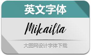 Mikailla(英文字体)