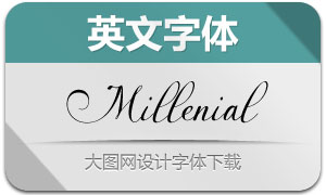 MillenialScript(英文字体)