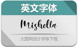Mishella(英文字体)