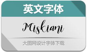 MiskianiScript(英文字体)