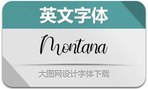 Montana(英文字体)