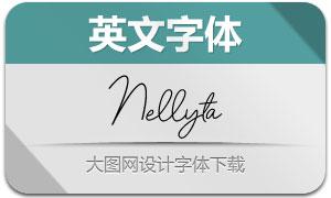 Nellyta(英文字体)
