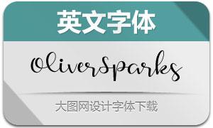 OliverSparks(英文字体)