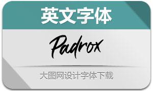 Padrox(英文字体)