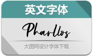 Pharllos(英文字体)