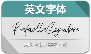 RafaellaSignature(英文字体)