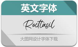 Rocttasil(英文字体)