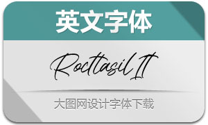 Rocttasil-Italic(英文字体)