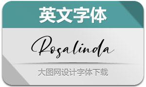 Rosalinda(英文字体)