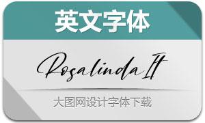 Rosalinda-Italic(英文字体)