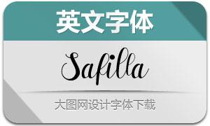 Safilla(英文字体)