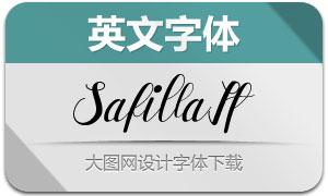 Safilla-Italic(英文字體)