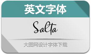 Salta(英文字體)