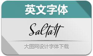 Salta-Italic(英文字体)