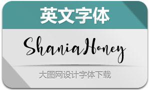 ShaniaHoney(英文字體)
