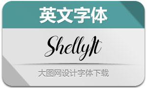 Shelly-Italic(英文字體)