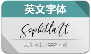 Sophitta-Italic(英文字體)