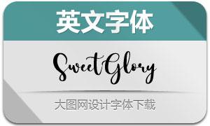SweetGlory(英文字体)