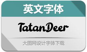 TatanDeer(英文字体)