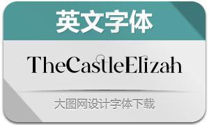 TheCastleElizah(英文字体)