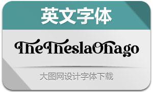 TheTheslaOhago(英文字体)