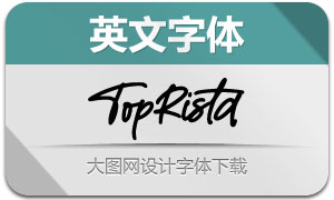TopRista((英文字体)