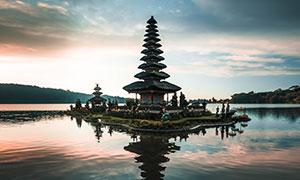 巴厘岛普拉布拉坦寺庙摄影高清图片