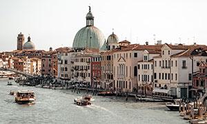 威尼斯城市建筑物风光摄影高清图片