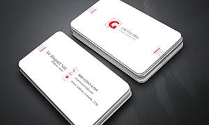 商務名片設計模板分層素材集合V171