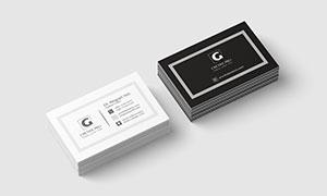 商務名片設計模板分層素材集合V209