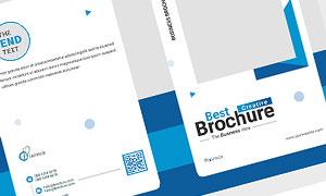 公司企業畫冊版式設計模板源文件V21