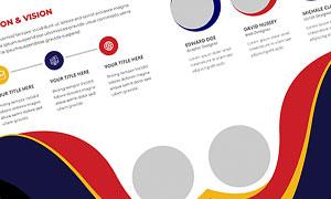 公司企業畫冊版式設計模板源文件V22