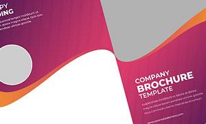 公司企業畫冊版式設計模板源文件V23
