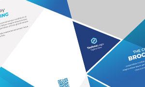 公司企業畫冊版式設計模板源文件V25