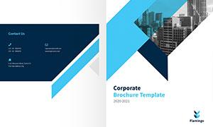 公司企業畫冊版式設計模板源文件V31