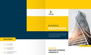 公司企業畫冊版式設計模板源文件V34
