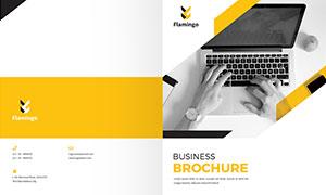 公司企業畫冊版式設計模板源文件V33