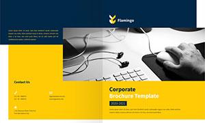 公司企業畫冊版式設計模板源文件V35