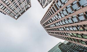 城市林立的高楼大厦建筑物高清图片