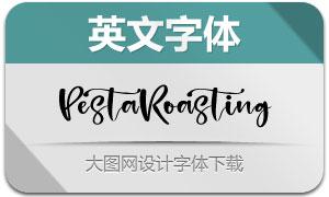 PestaRoasting(英文字体)