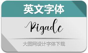 Pigade(英文字体)