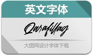 Qarafillag(英文字体)