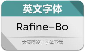 Rafine-Book(英文字体)
