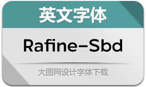 Rafine-Semibold(英文字体)