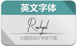 Rashyid(英文字体)