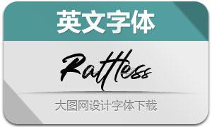 Rattless(英文字体)