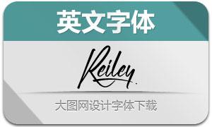 Reiley(英文字体)