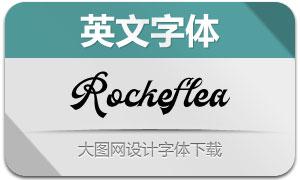 Rockeflea(英文字体)