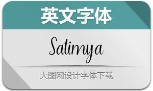 Satimya(英文字体)