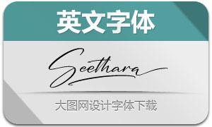 Seethara(英文字体)